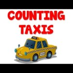 Taxis Numbers | Learn numbers from 1 to 9