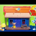TOM AND JERRY Cartoon Network Trick House a Tom and Jerry Video Toys Unboxing