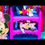 MINNIE MOUSE SLEEP OVER PARTY Daisy Minnie Sleep Over Party Play Set