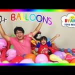 TOYS SURPRISE HUGE BALLOON POP CHALLENGE PARTY Disney Cars Marvel Thomas Train Egg Surprise Toy