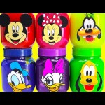 Mickey Mouse Club House Friends Slime Surprises LEARN Colors