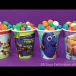 Candy Surprise Cups Justice League Mashems Disney Frozen Inside Out Toys Lego Minifigures Blind Bag