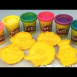 Play Doh Sparkle Compound Collection with Elmo and Friends Molds Fun for Kids
