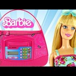 Barbie Save n' Shop Electronic Purse Bank Saving Real Money with Barbie Banco de Juguete DCTC