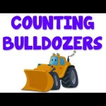 Bulldozers Numbers | Learn numbers from 1 to 5