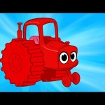 My Red Tractor – My Magic Pet Morphle Vehicle Compilation With Trucks Fire Trucks and More
