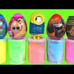 Surprise Eggs Flarp Noise Putty Surprise Toys Paw Patrol Barbie Minions Hot Wheels  Ice Age Toys
