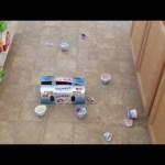 The Kids Love Yogurt … and Mess Making