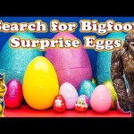 GIANT SURPRISE EGGS Search for Bigfoot with Paw Patrol Nickelodeon Surprise Toys Video