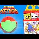 Surprise Eggs Happy Meal McDonald's Toys Play Doh Metroid Hello Kitty Spongebob My Little Pony