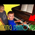 AMAZING 6 Year Old Pianist Plays Ragtime Happy Birthday!!