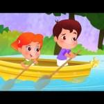 Row Row Row Your Boat Nursery Rhyme