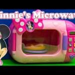 MINNIE MOUSE Disney Minnie Marvelous Microwave Se Video Toys Unboxing