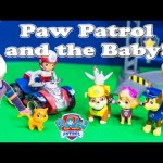 PAW PATROL Nickelodeon Paw Patrol Baby & The Assistant Baby Hunt Toys Video Parody