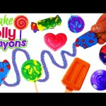 Candy Crayons Maker Lollipop Crayon Maker Kit Anna Frozen Kids School Art Class