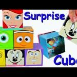 DISNEY SURPRISE TOYS! Cubeez Surprise Cubes filled with Surprise Eggs, Blind Bags Toys DisneyCarToys