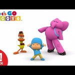 Let's Go Pocoyo! – Playing Dress Up [Episode 27] in HD