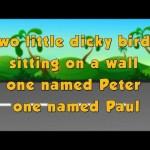 Karaoke Rhymes – Two little dicky birds