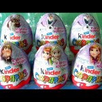 Kinder Egg Disney Frozen Princess Anna Elsa Kristoff Olaf Sven by funtoyscollector Disney toy review