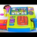 Dora the Explorer Talking Cash Register Toy in English and Spanish Nickelodeon Dora