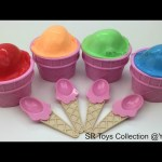 Clay Slime Ice Cream Surprise Cups Spiderman Tom and Jerry Littlest Pet Shop Winnie the Pooh Toys
