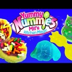 Yummy Nummies Donut Maker & Gummy Fruit Snack Candy Dessert Treats + Frozen Elsa & Kids