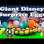 DISNEY GIANT SURPRISE EGGS Disney Mickey Mouse Giant Surprise Egg Video