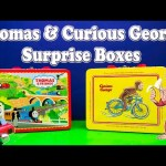 SURPRISE BOX Thomas and Friends Nickelodeon Thomas & PBS Curious George Toys Video