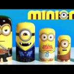 Minions Stacking Cups Nesting Toys Surprise Pirate Minion, Vampire Minion Disney Toys Review Channel