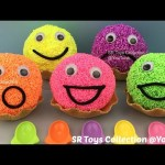 Foam Clay Ice Cream Waffle Happy Face Surprise Eggs Sofia the First TMNT Finding Dory My Little Pony