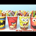 Candy Surprise Cups & Toys Peppa Pig Frozen Batman Hello Kitty Puppy in My Pocket SR Toys Collection