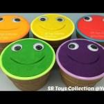 Play Doh Ice Cream Smiley Face Surprise Cups Teletubbies Tinky Winky Dipsy Laa Laa Po Noo Noo Toys