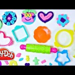NEW Play Doh Cute Cookie Tray Creations Playset Playdough Deserts, Icing, Gummy Bear, Ice Cream Cake