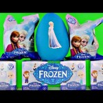 FROZEN Pocket Pops Mystery Minis Blind Box and Blind Bag Opening Play Doh Disney Frozen Surprise Egg