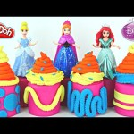 NEW Surprise Eggs Disney Princess Fashems Play Doh Rapunzel Sleeping Beauty Chocolate Egg Toys
