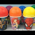 Spider Man Peppa Pig Surprise Cups Mickey Mouse Paw Patrol Bonkazonks Finding Dory The Good Dinosaur