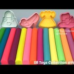 Play Dough Modelling Clay with Fashion Themed Molds Fun and Creative for Kids