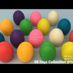 Fun Learning Colours with Play Doh Eggs with Angry Birds Molds Fun and Creative for Kids