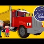 Song About Trucks   Nursery Rhymes   Original Songs By LittleBabyBum!