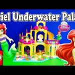 LITTLE MERMAID Disney Princess Lego Ariel Undersea Castle Toys Video
