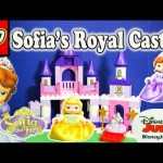 SOFIA THE FIRST Disney Sofia Lego Duplo Royal Castle Sofia Video Toy Review