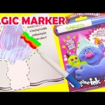 Trolls Imagine Ink Coloring Magic Markers and LOL Doll Surprises