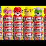 Learn Colors with Paw Patrol Super Pup Mashems