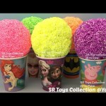Playfoam Surprise Cups Peppa Pig Trolls Winnie the Pooh Ooshies Finding Dory Frozen TMNT Shopkin Toy