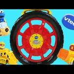 8 Car Vtech Go Go Smart Wheels Launch & Go Storage Case Cars Cookie Monster Play Doh Toys Episode