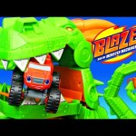 Blaze & The Monster Machines TOYS Take on Monster Jam Off-Road Dragon Blast Challenge + Disney Cars