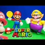SUPER MARIO THe Super Mario and Wario Figures a Super mario Video Toy Review