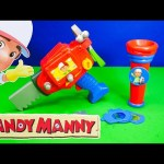 HANDY MANNY Disney Handy Manny Tool and Flashlight Toys Video Unboxing