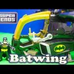 BATMAN DC Heroes Batman Batwing a Batman Imaginext Batman Video Toy Review