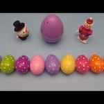 Kinder Surprise Egg Learn-A-Word! Spelling Holiday Words!  Lesson 17